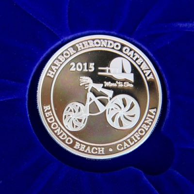 Redondo-Beach-City Coin-2015