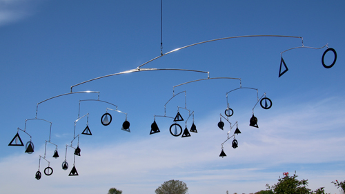 Mobile by Amos Robinson Family Tree Stainless Steel Contemporary Art