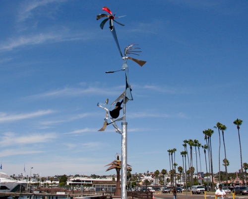 Sweet Music Dancer Kinetic Sculpture by Amos Robinson contemporary art stainless steel