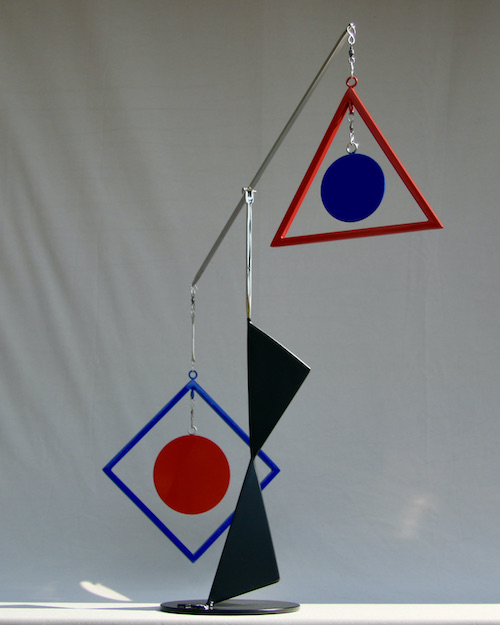 Kinetic art by Amos Robinson Decisions sculpture stainless steel contemporary art