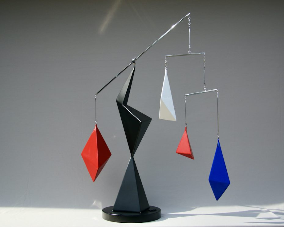 Kinetic art by Amos Robinson Dysfunction sculpture stainless steel contemporary art